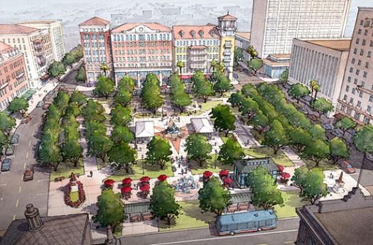 Plan El Paso. Image credit: Dover Kohl & Partners.