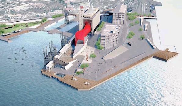 Το Μουσείο Εναλίων Αρχαιοτήτων στο βιομηχανικό κτίριο του Σιλό στον Πειραιά σχεδιάστηκε με κέφι από έξι Ελληνες αρχιτέκτονες.